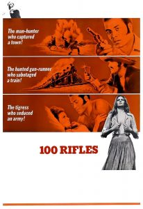 "Poster for the movie ""100 Rifles"""