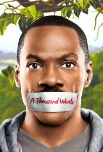 """Poster for the movie """"A Thousand Words"""""""