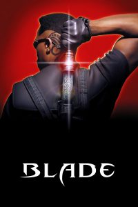 "Poster for the movie ""Blade"""