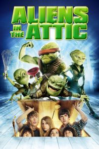 """Poster for the movie """"Aliens in the Attic"""""""