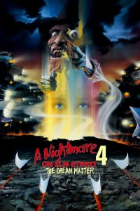 "Poster for the movie ""A Nightmare on Elm Street 4: The Dream Master"""