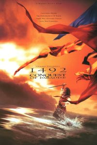 "Poster for the movie ""1492: Conquest of Paradise"""