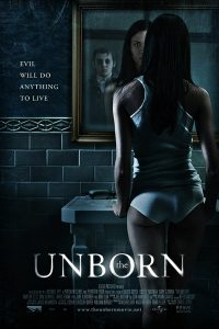 "Poster for the movie ""The Unborn"""
