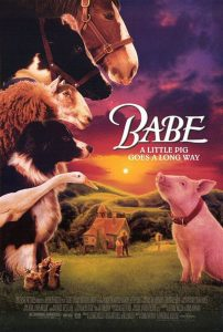 """Poster for the movie """"Babe"""""""