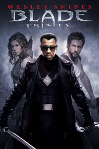 "Poster for the movie ""Blade: Trinity"""