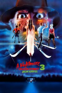 "Poster for the movie ""A Nightmare on Elm Street 3: Dream Warriors"""