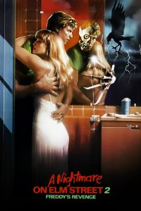 "Poster for the movie ""A Nightmare on Elm Street Part 2: Freddy's Revenge"""