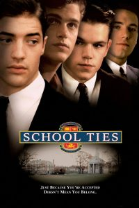 """Poster for the movie """"School Ties"""""""