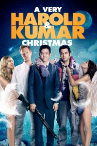 "Poster for the movie ""A Very Harold & Kumar Christmas"""