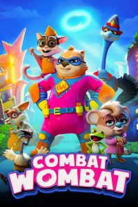 "Poster for the movie ""Combat Wombat"""