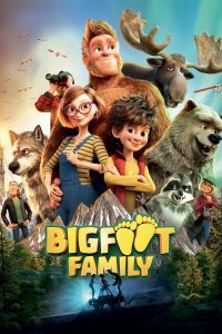 "Poster for the movie ""Bigfoot Family"""